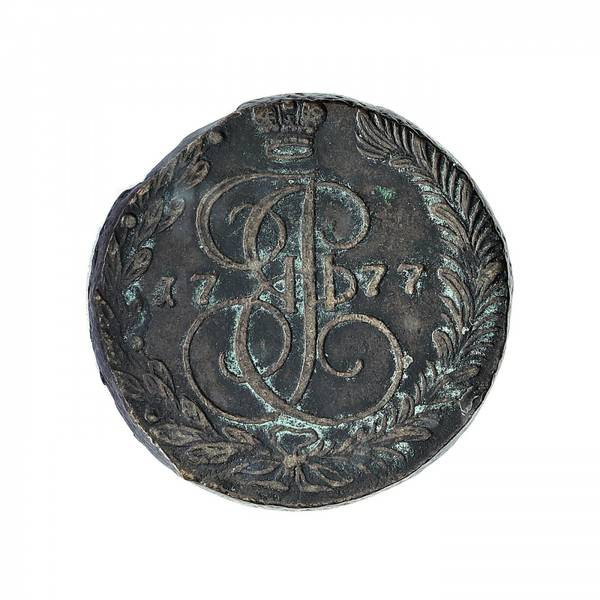 Bilde av Russland 5 kopek 1777 EM