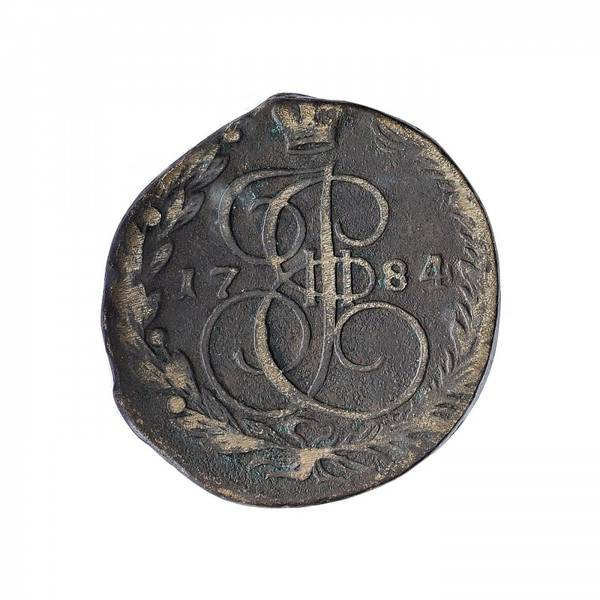 Bilde av Russland 5 kopek 1784 EM