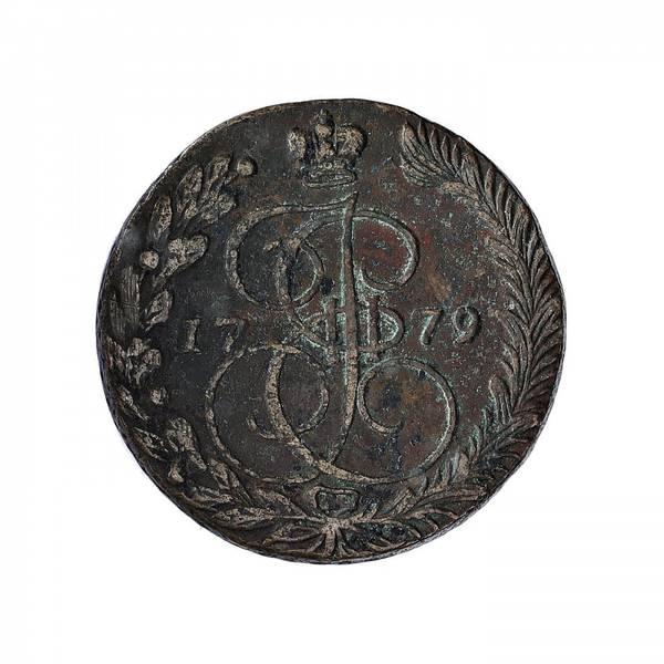 Bilde av Russland 5 kopek 1779 EM