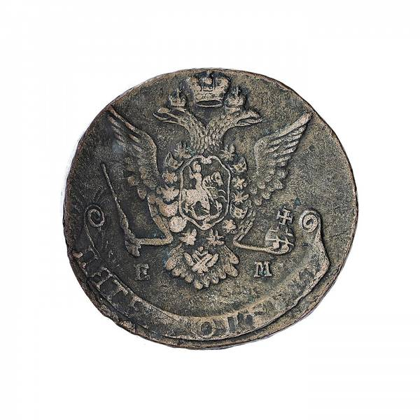 Bilde av Russland 5 kopek 1773 EM