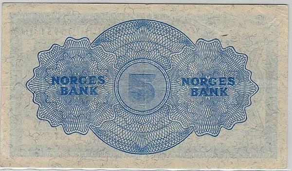 Bilde av 5 kroner 1951 G
