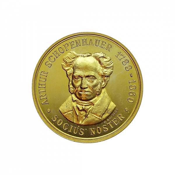 Bilde av Arthur Schopenhauer 1788-1860 DKNVS