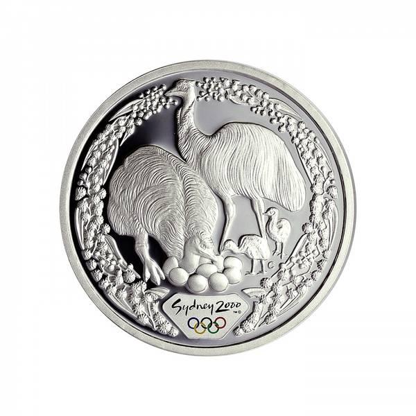 Bilde av Australia 5 dollar 2000 Emu