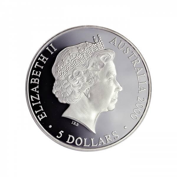 Bilde av Australia 5 dollar 2000 Krageagam