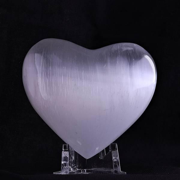 Bilde av Hjerte av selenitt, medium