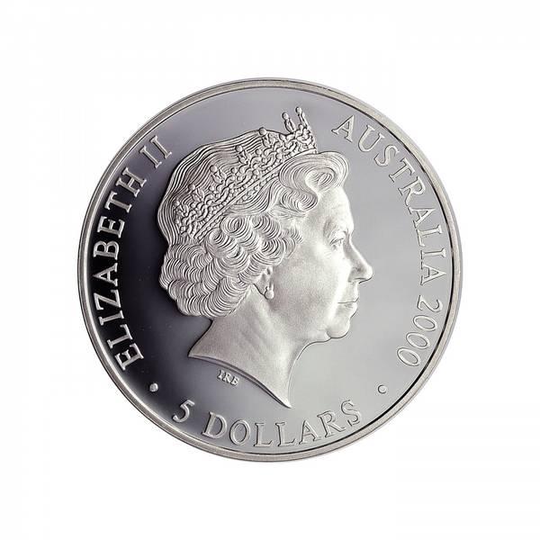 Bilde av Australia 5 dollar 2000 Maurpiggsvin