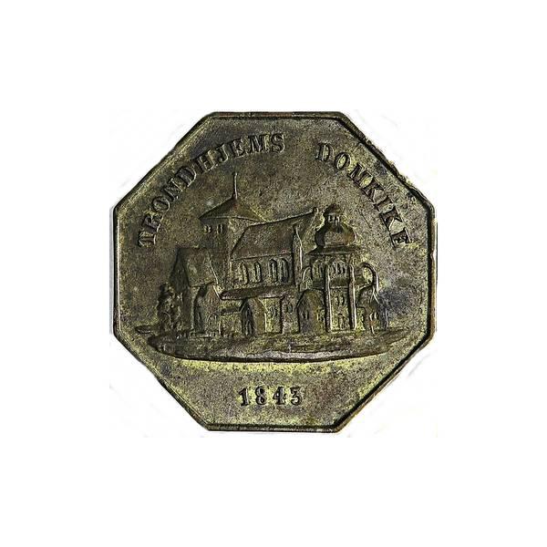 Bilde av Hch. Brandts Kortevarehandel 1843-1845