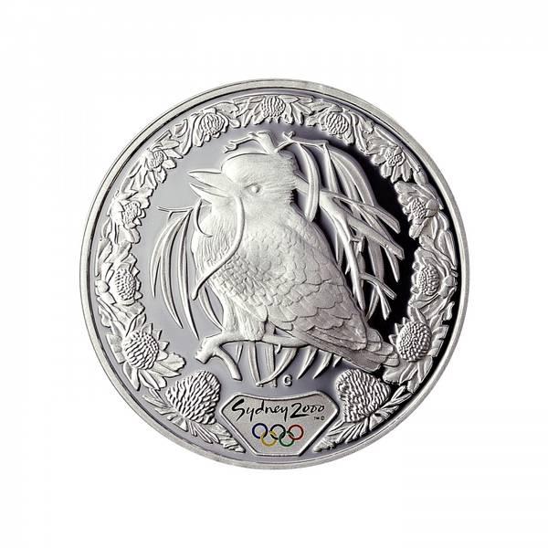 Bilde av Australia 5 dollar 2000 Kookaburra