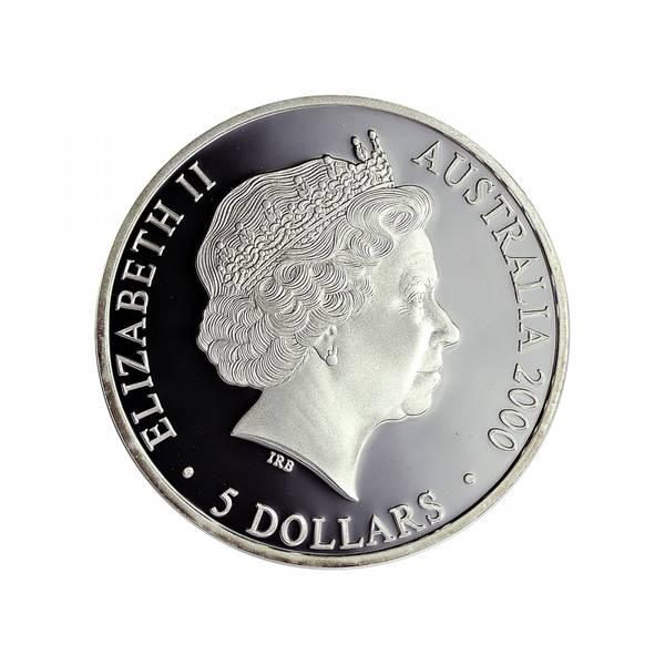 Bilde av Australia 5 dollar 2000 Sjøfugler