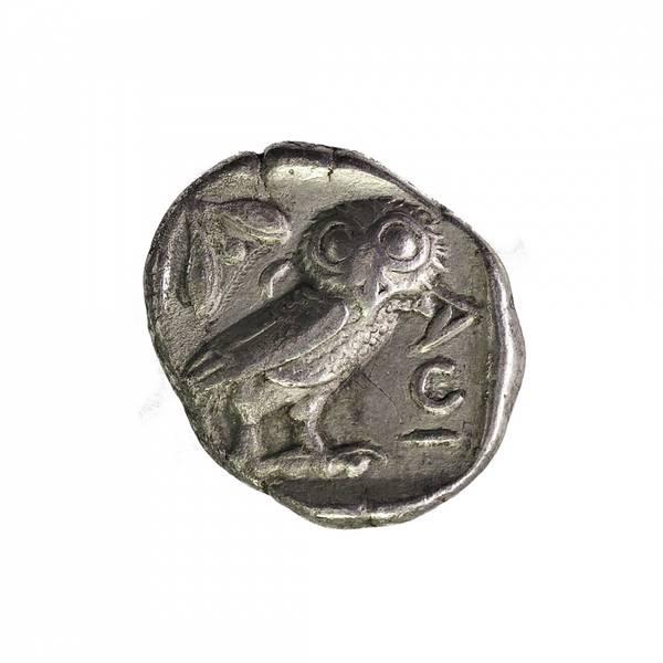 Bilde av Athen Tetradrakme 454-404 f.Kr. Ugle
