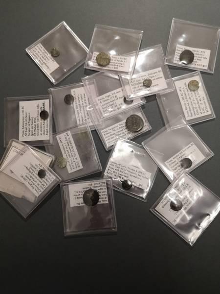 Bilde av Greske 2000 år gamle mynter