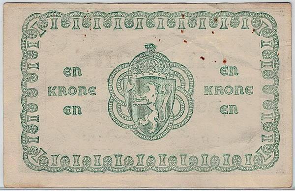 Bilde av 1 krone 1917 Uten litra