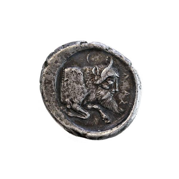 Bilde av Gela Didrakme 490-475 f.Kr.