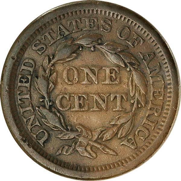 Bilde av USA 1 cent 1854