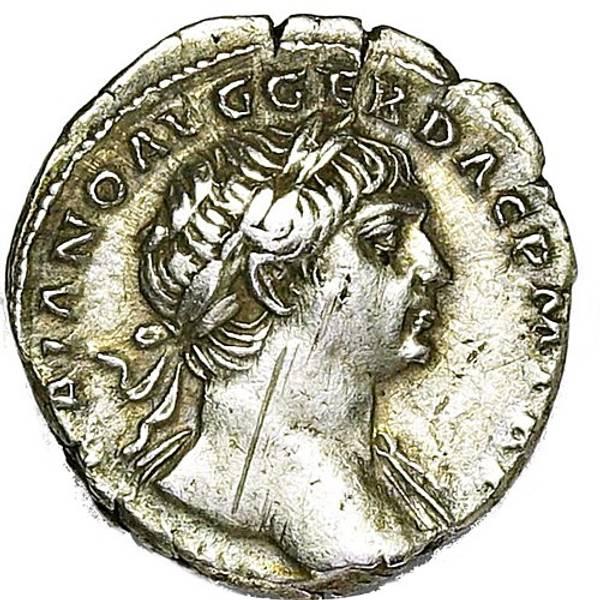 Bilde av Trajan Denar 98-117 Victoria
