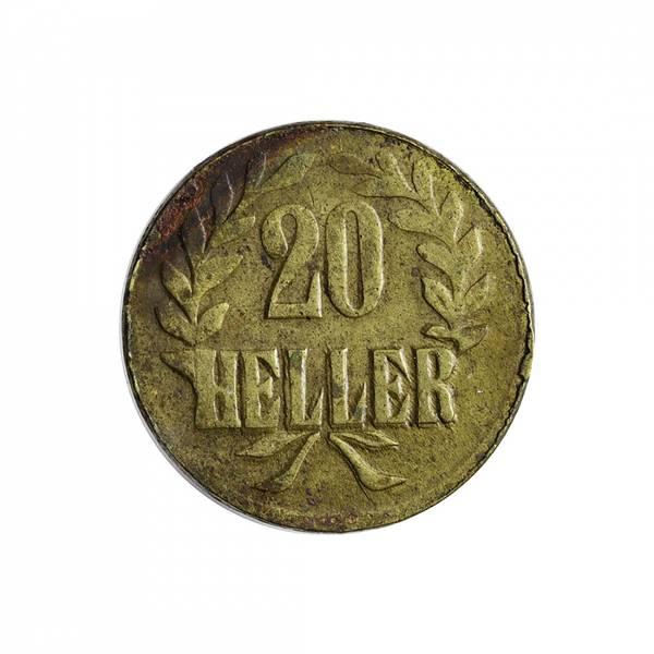 Bilde av Tysk Østafrika 20 heller 1916