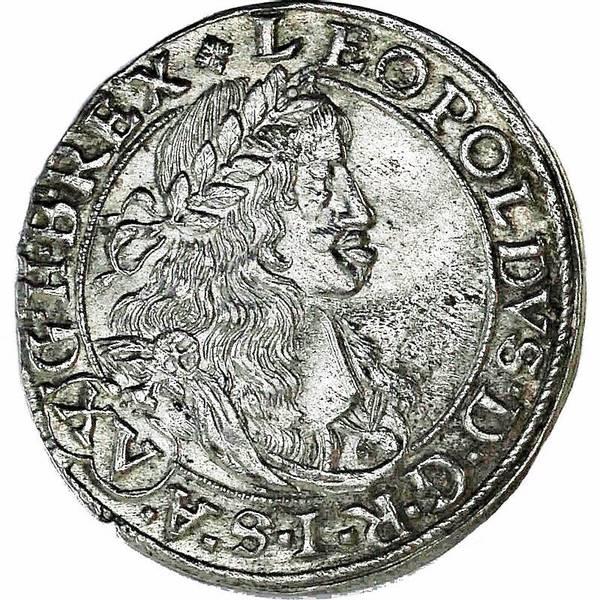 Bilde av Østerrike 15 kreuzer 1664 Grisekjeften