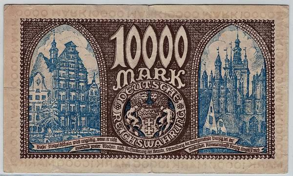 Bilde av Danzig 10 000 mark 1923
