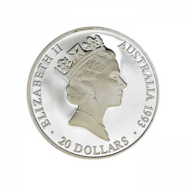 Bilde av Australia 20 dollars 1993
