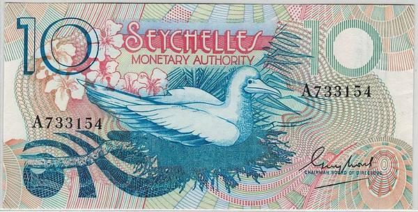 Bilde av Seychellene 10 rupees uå
