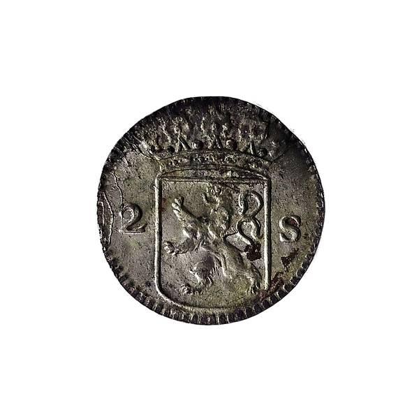 Bilde av Rundeskatten 2 stuiver 1724