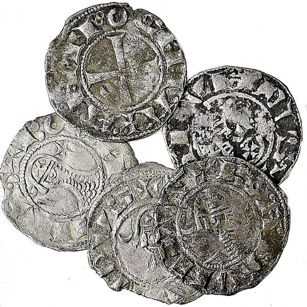 Bilde av Bohemund III Denier 1163-1201 Korsfarer