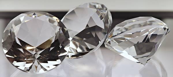 Bilde av Glassdiamant/