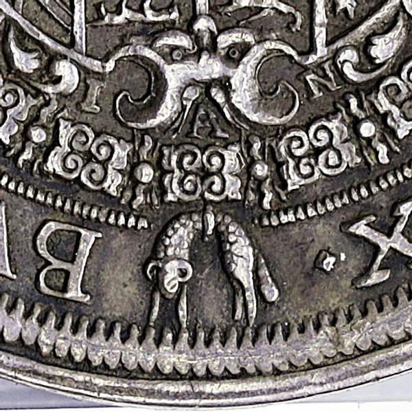Bilde av Leopold I Grisekjeften 1 taler 1690