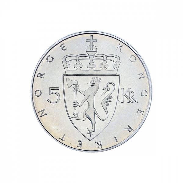Bilde av VIP 5 kroner 1975 Kronemynten