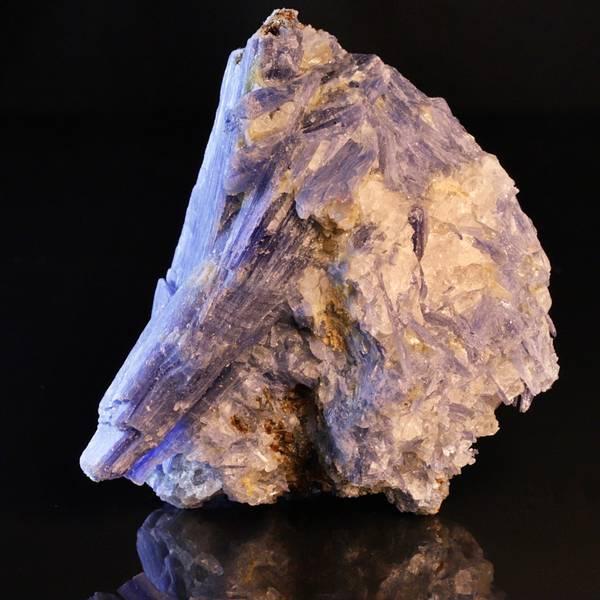 Bilde av Blå kyanitt (kyanite) med kvarts, Brasil