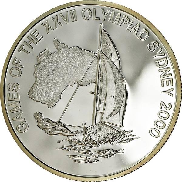 Bilde av Liberia 10 dollars 2000