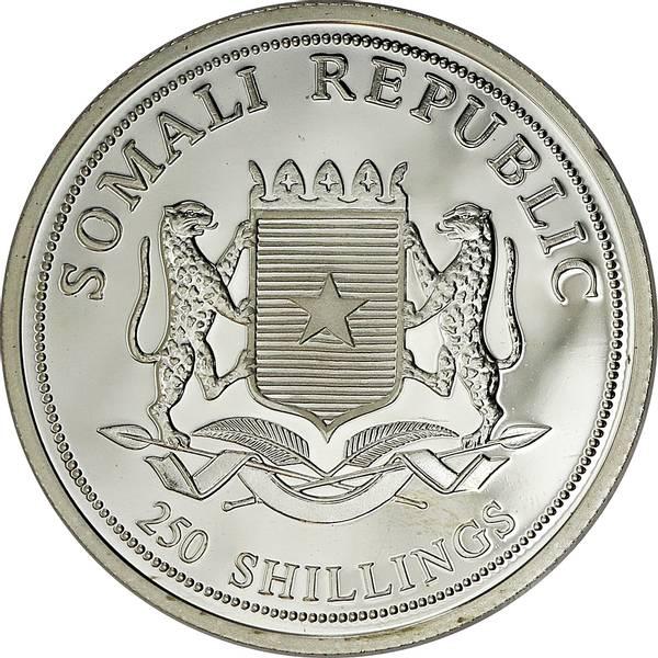 Bilde av Somalia 250 shillings 2000