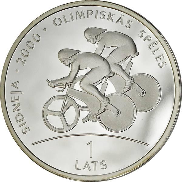 Bilde av Latvia 1 lats 1999