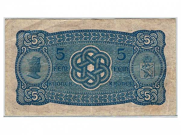 Bilde av 5 kroner 1934 N