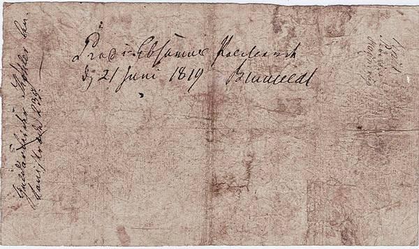 Bilde av Danmark 5 rigsbankdaler 1814