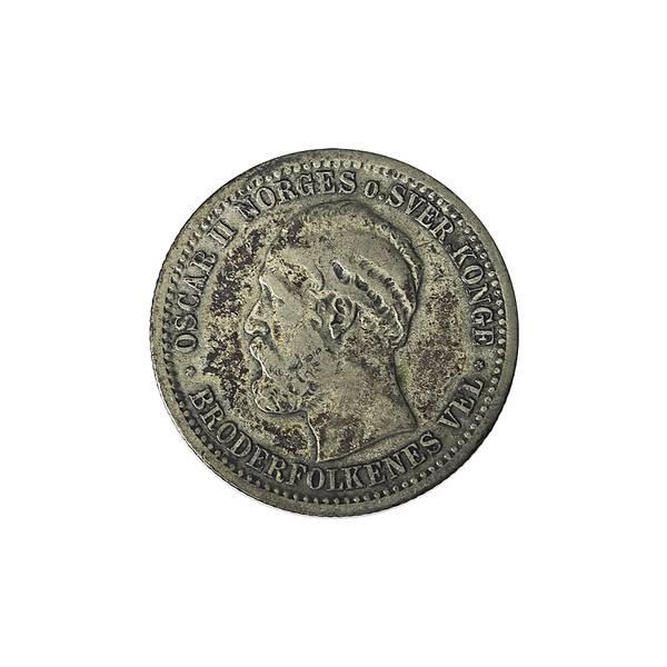 Bilde av 50 øre 1875 15 skilling