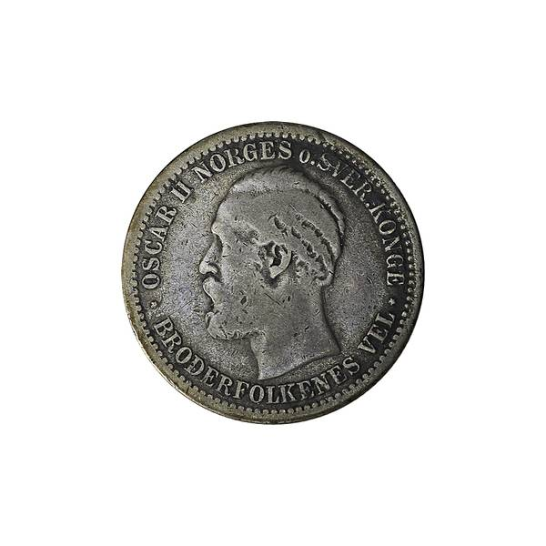 Bilde av 50 øre 1877