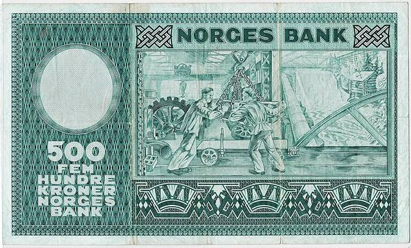 Bilde av 500 kroner 1973 A