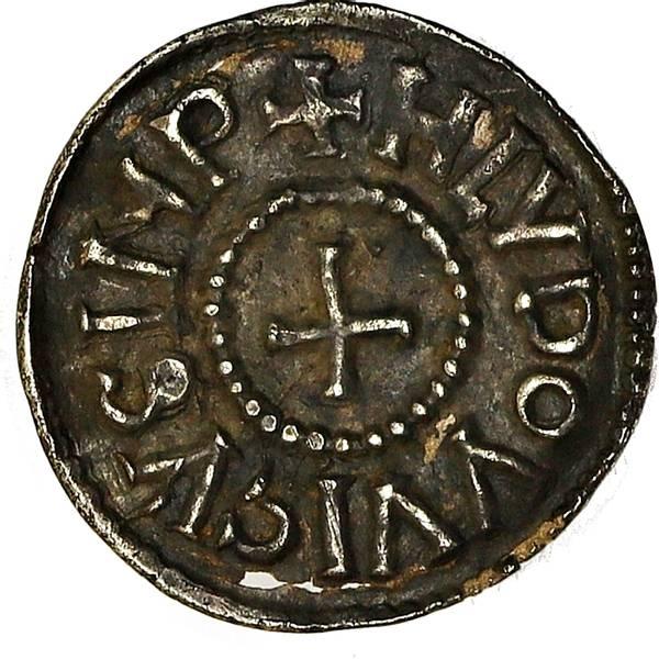 Bilde av Karolingerne Ludvig den fromme Denar 814-840