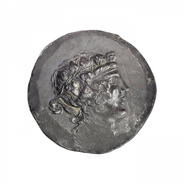 Bilde av Maroneia Tetradrakme 120-50 f.Kr. Dionysos