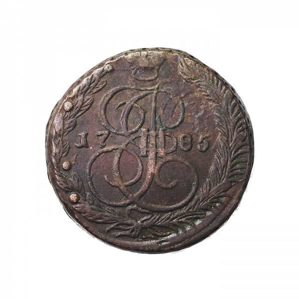 Bilde av Russland 5 kopek 1785 EM