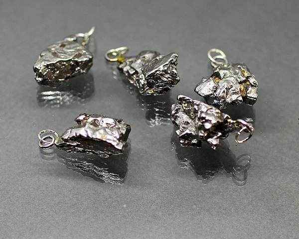 Bilde av Ekte jernmeteorittsmykke