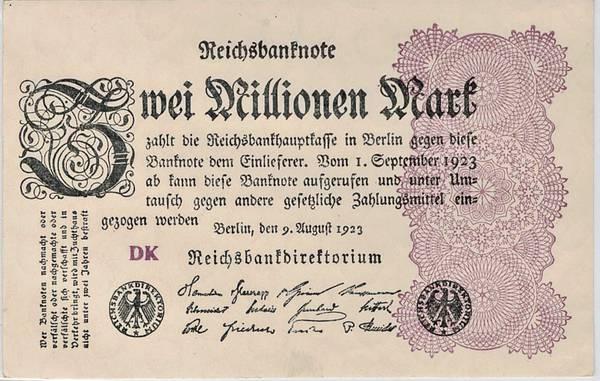 Bilde av 2 000 000 mark 1923