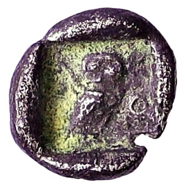 Bilde av Athen Obol 510-490 f.Kr. Svært sjelden!