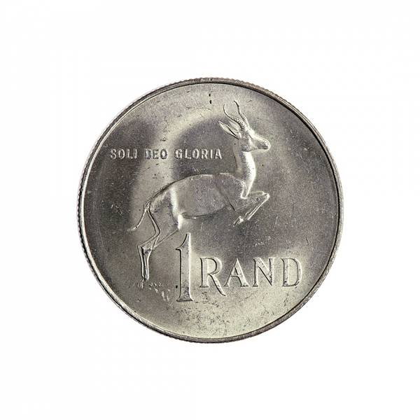 Bilde av Sør-Afrika 1 rand 1966
