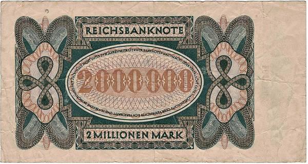 Bilde av 2 000 000 mark 1923 Inflasjonsseddel