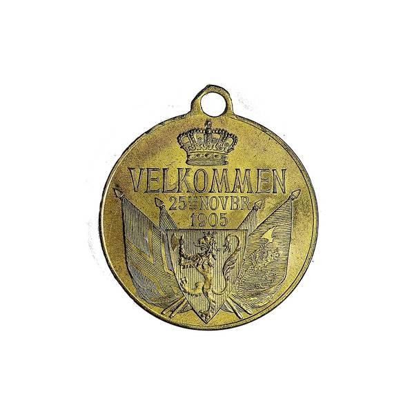 Bilde av Ivar Throndsen Kongeparet 1905