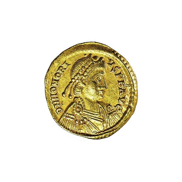 Bilde av Honorius Solidus 393-423 Gull