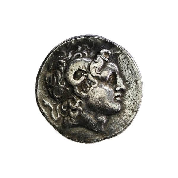 Bilde av Lysimachos Tetradrakme 305-287 f.Kr. Alexanderportrett