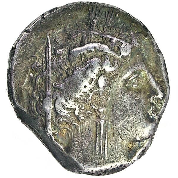 Bilde av Metapont Didrakme 340-330 f.Kr. Dvergmus